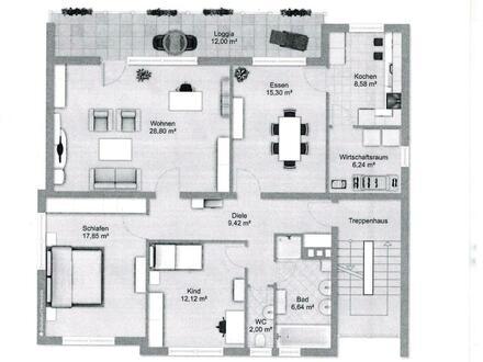 4-Zimmer-Wohnung in Großostheim-OT