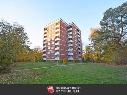 Achim / Helle 2-Zimmer-Wohnung mit Süd-Loggia und Personenaufzug