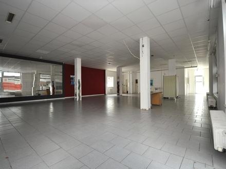 Ladenfläche im Erdgeschoss mit ca. 142 m² Nutzfläche und sofort verfügbar