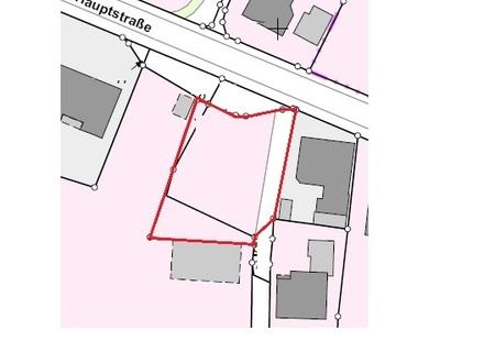 Grundstück in zentraler Lage von Lorup