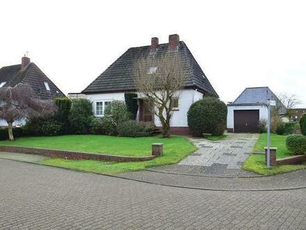 Sande: Kleines gepflegtes Einfamilienhaus in ruhiger Wohnlage
