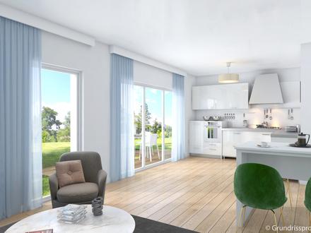 *** NEU - Hochwertige 3-Zimmer-Neubauwohnung mit eig. Garten, Fahrstuhl und Tiefgarage ***