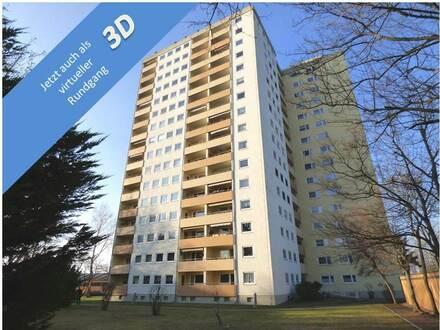 Viel Platz: Vier Zimmer mit Balkon