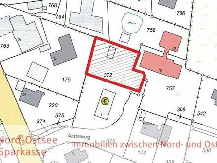 Teilerschlossene Baulücke in sehr guter und zentraler Lage der ehemaligen Amtsgemeinde Hattstedt!