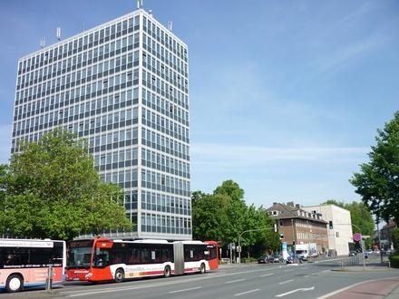 MITTEN in MÜNSTER mit Balkon zur PROMENADE! 82 m²-Büro/Praxis Nähe Servatiiplatz + Bahnhof