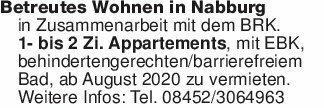 Betreutes Wohnen in Nabburg in...