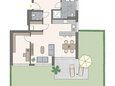 Wangen, Berger Höhe - Ein Zuhause im Schubartweg, 4-Zi. EG, A02