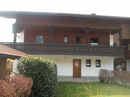 * Berge * Ruhe * Erholung * -- hoher Freizeitwert ! Große, gemütliche 5 Zimmer-Maisonette-Wohnung im Chiemgau/ Marquartstein…
