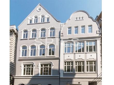 Moderne und hochwertige 3-Zimmer-Wohnung mit Terrasse im Herzen der Stadt