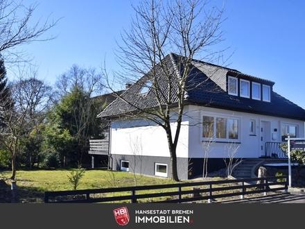 Lilienthal / Modernisiertes Einfamilienhaus auf Sonnengrundstück