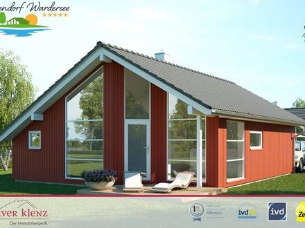 BAUBEGINN: Feriendorf Wardersee - Rendite mit Ihrem eigenen Ferienhaus am See.