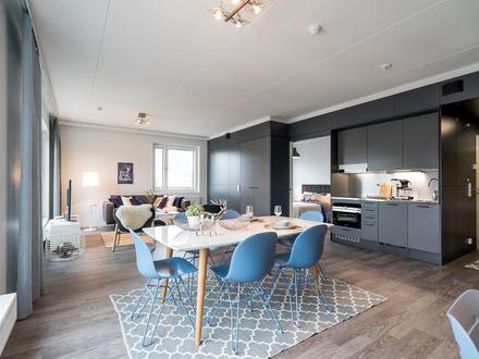 2-Zimmer-Wohnung (75 m²) + 10 m² Terrasse
