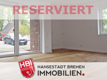 Worpswede / Helle 3-Zimmer-Wohnung mit Sonnenterrasse