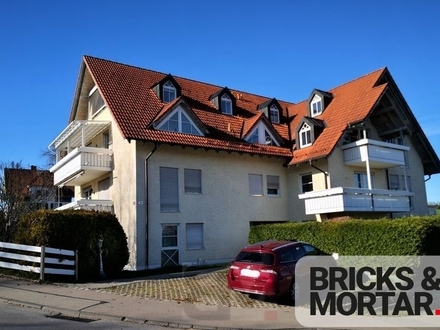 3-Zimmer-Wohnung mit Balkon und TG-Stellplatz in Waltenhofen-Hegge