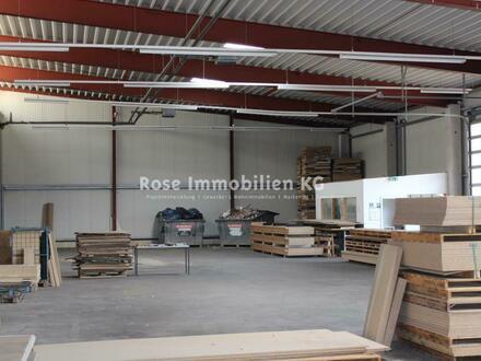 ROSE IMMOBILIEN KG: Lagerhalle in Rodenberg zu vermieten!