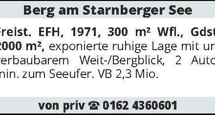 Berg am Starnberger See