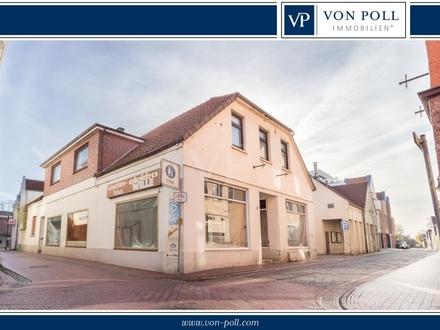 Chance für Investoren - Wohn- und Geschäftshaus im Stadtzentrum von Jever