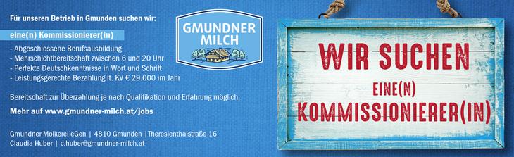 Für unseren Betrieb in Gmunden suchen wir: eine(n) Kommissionierer(in) - Abgeschlossene Berufsausbildung - Mehrschichtbereitschaft zwischen 6 und 20 Uhr - Perfekte Deutschkenntnisse in Wort und Schrif