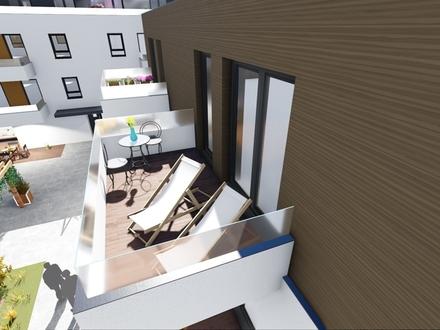 Betreute Seniorenwohnungen - 2-Zimmer-Wohnung mit ca.57,70 m² Wohnfläche