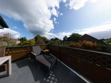 VORSCHAU | Behagliche DG-Wohnung mit herrlicher Dachterrasse
