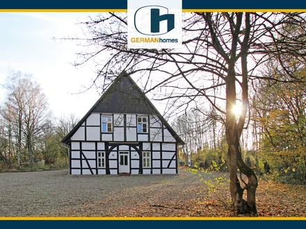 PROVISIONSFREI für Käufer - Kernsaniertes Fachwerkhaus in landschaftl. Alleinlage von B-Roland