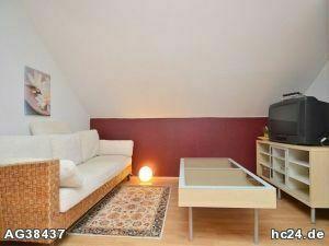 Für Pendler:Gemütlich möblierte 2-Zimmer-Wohnung mit WLAN in Oberasbach bei Nürnberg