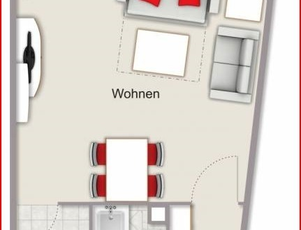 Die Raumaufteilung