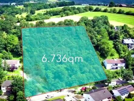 Für Bauträger und Investoren - Vier exklusive Bauplätze mit 6.736 qm