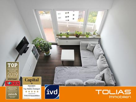Hoch Hinaus! Attraktive 2-Zimmer-Wohnung mit attraktiver Galerie, Balkon und TG-Stellplatz