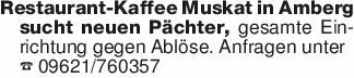 Restaurant-Kaffee Muskat in Am...