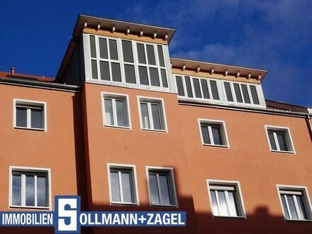Penthaus mit Dachterrasse & Balkon über den Dächern Nürnbergs, Neubaustandard