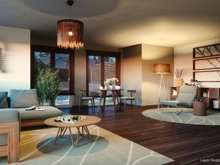LAYER WOHNEN: Ihre Erdgeschosswohnung mit Blick ins GRÜNE - in der belebten Stadt Schwabmünchen