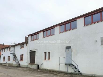 ROSE IMMOBILIEN KG: Lagerflächen + Wohnhaus in Porta Westfalica!