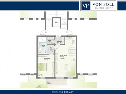 Erstbezug Februar 2020! 2-Zimmer-NEUBAU-Wohnung mit Balkon!