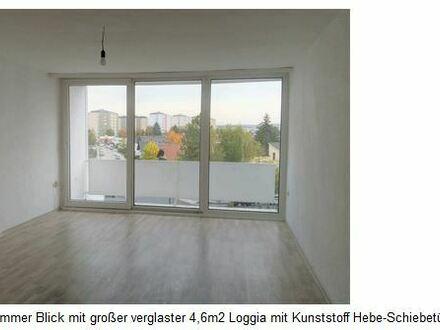 Helle Wohnung 66m2, Wels/Vogelweide, 2 Loggien, schöne Aussicht, 1077m2 Garten