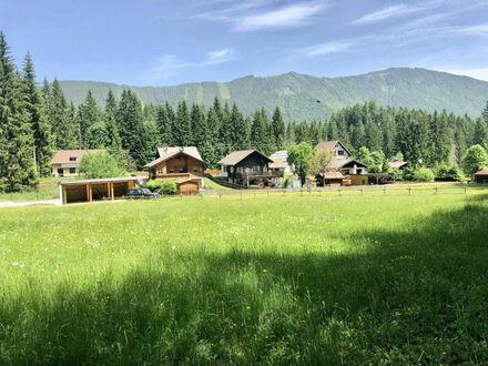 Ferlach - Bodental: Großes Baugrundstück mit FZ-Widmung und kleinem Waldstück