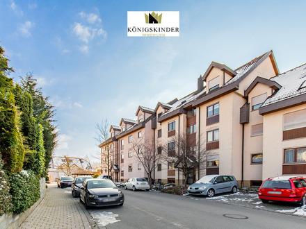 Highlight: Gemütliche 2-Zimmerwohnung mit Loggia, schöner Aussicht und TG-Stellplatz