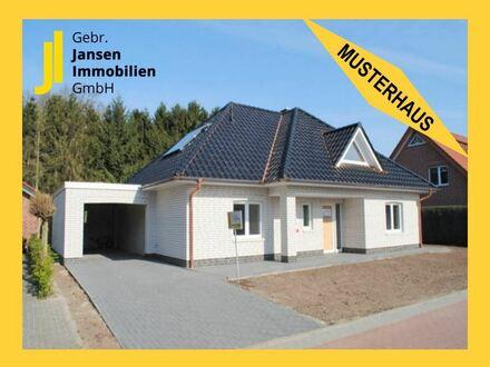 Musterhaus - Schlüsselfertiger Walmdachbungalow in Rhauderfehn-Burlage!