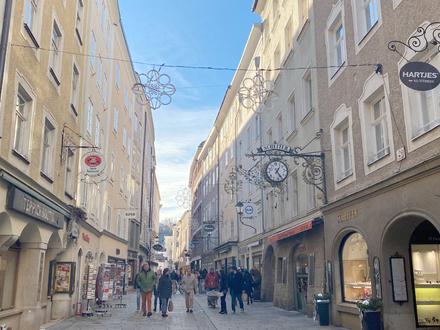 KAPITALANLAGE FÜR GENERATIONEN! Altstadthaus auf der Rechten Salzburger Altstadtseite!