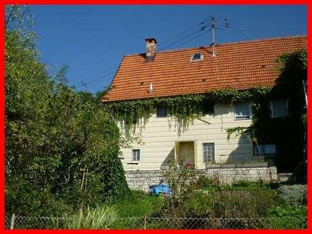Ideal für Handwerker und Bastler - ehemaliges Bauernhaus mit viel Platz und Potential!