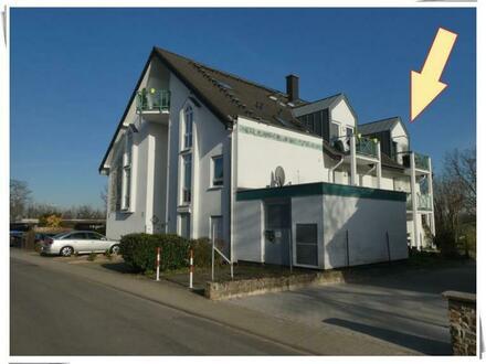 Oestrich: Vermietete Maisonette-Wohnung mit Ausblick