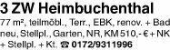 Wohnung 77m² Heimbuchenthal