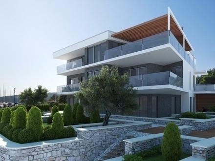 Designervilla in erster Meerlinie in Kroatien/Pomer