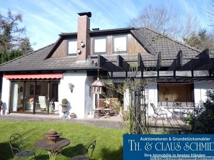 Gepflegtes Einfamilienhaus auf Hintergrundstück in guter Lage von Oldenburg