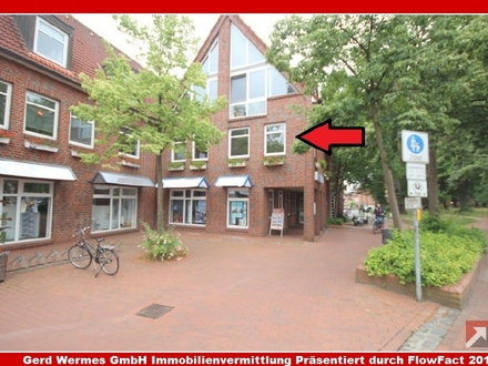 Helle Büro-/Praxisräume im 1. OG im Zentrum von Meppen zu vermieten!