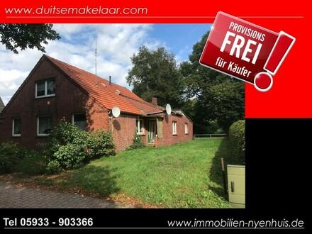 Großes Grundstück im Raum Papenburg mit abrissreifem Haus ** ideal für Kapitalanleger ** provisionsfrei