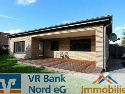 Vermietung: komforthaftes Wohnen zur ebenen Erde in attraktiver Lage im Ortsrand Niebülls - Neubau