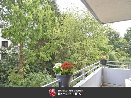 Schwachhausen / Schöne 3-Zimmer-Wohnung mit Balkon und Tiefgaragenstellplatz
