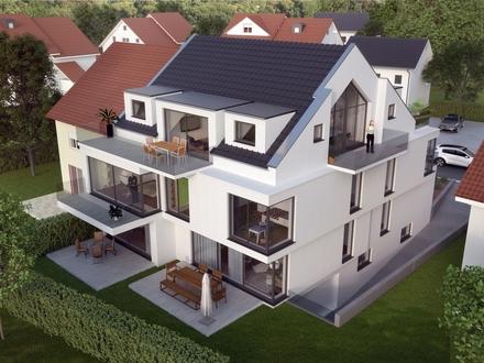 Exklusive Wohlfühloase mit großer Terrasse in Schweinheim