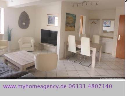 Modern möblierte 2-Zimmer Wohnung in zentraler Lage von Mainz-Neustadt.
